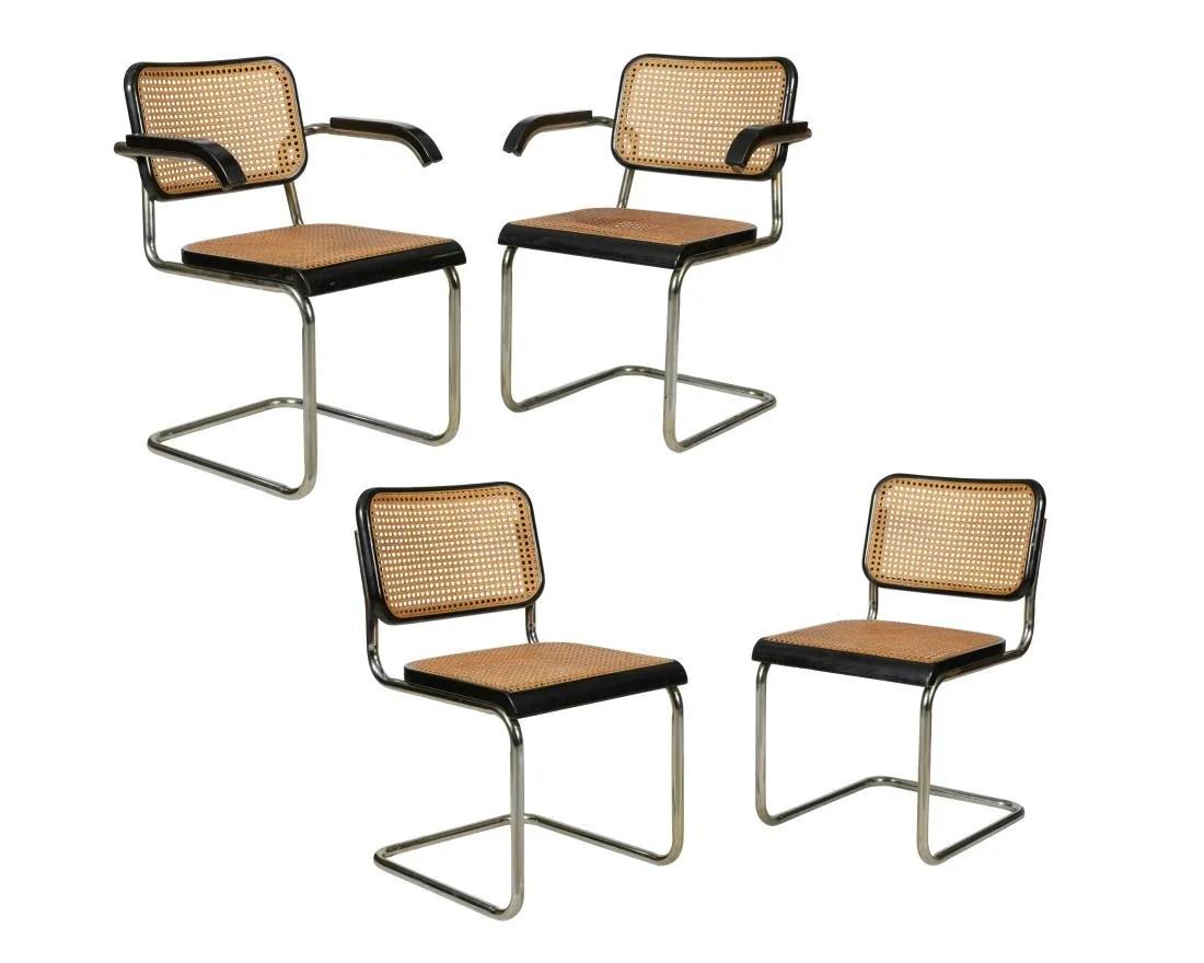 breuer chairs for sale pontoon captains chair vintage marcel furniture antique cesca four