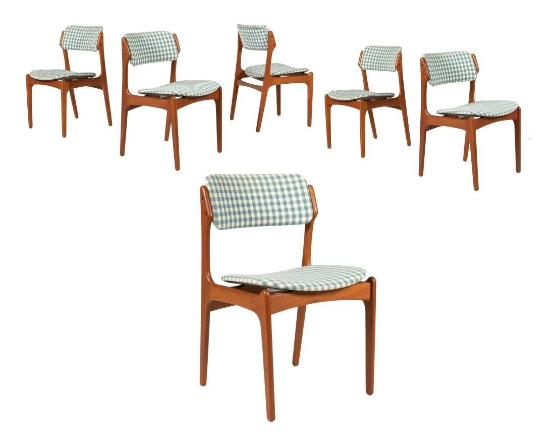 erik buck chairs chair covers scotland teak dining