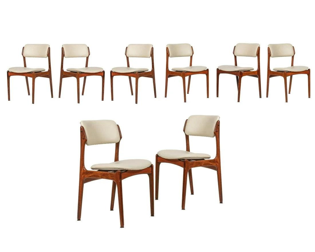 erik buck chairs white wood desk chair no wheels model 49 rosewood dining