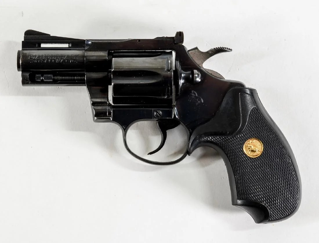 colt diamondback revolver 38