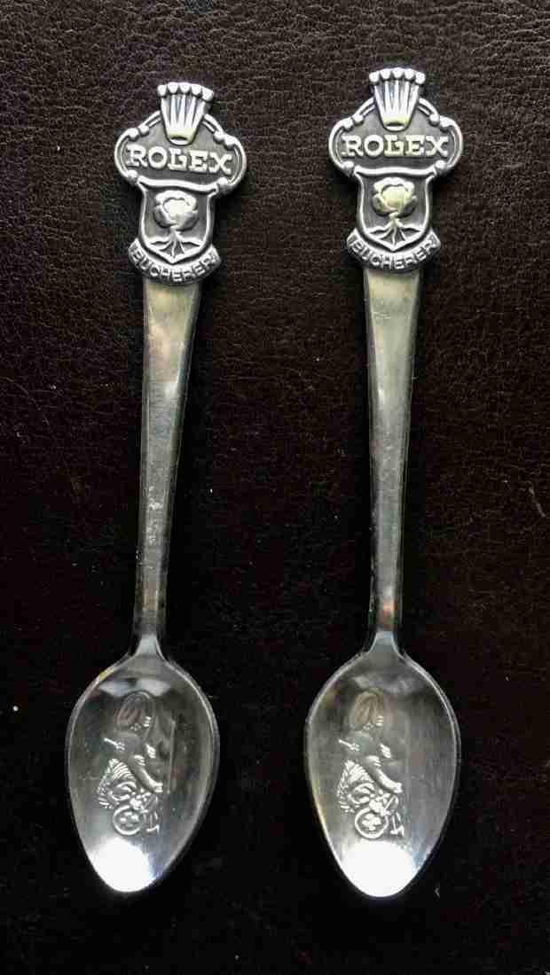 Rolex Spoon : rolex, spoon, Rolex, Spoons, Collectible, Souvenir, Miami, Dealers