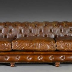 Kensington Leather Sofa Restoration Hardware Budget Sofas Uk A