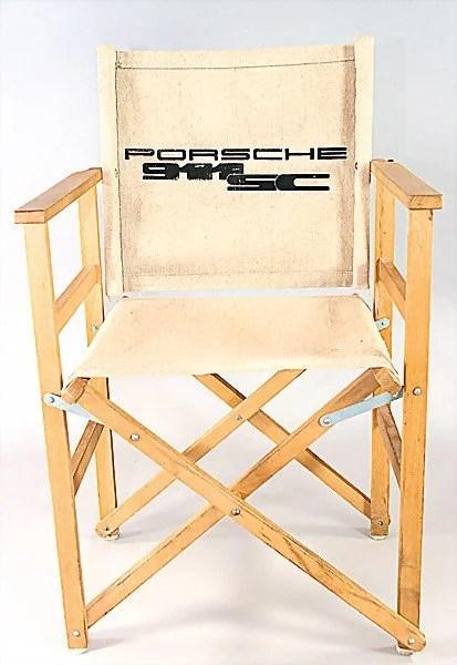 folding chair auction girl high 2416 description english porsche p