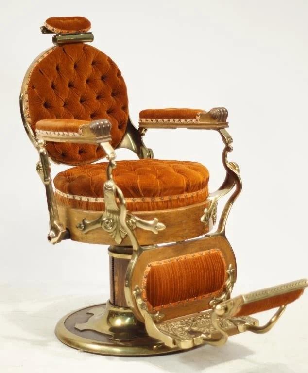 koken barber chair adirondack plans free congress model ca 1890