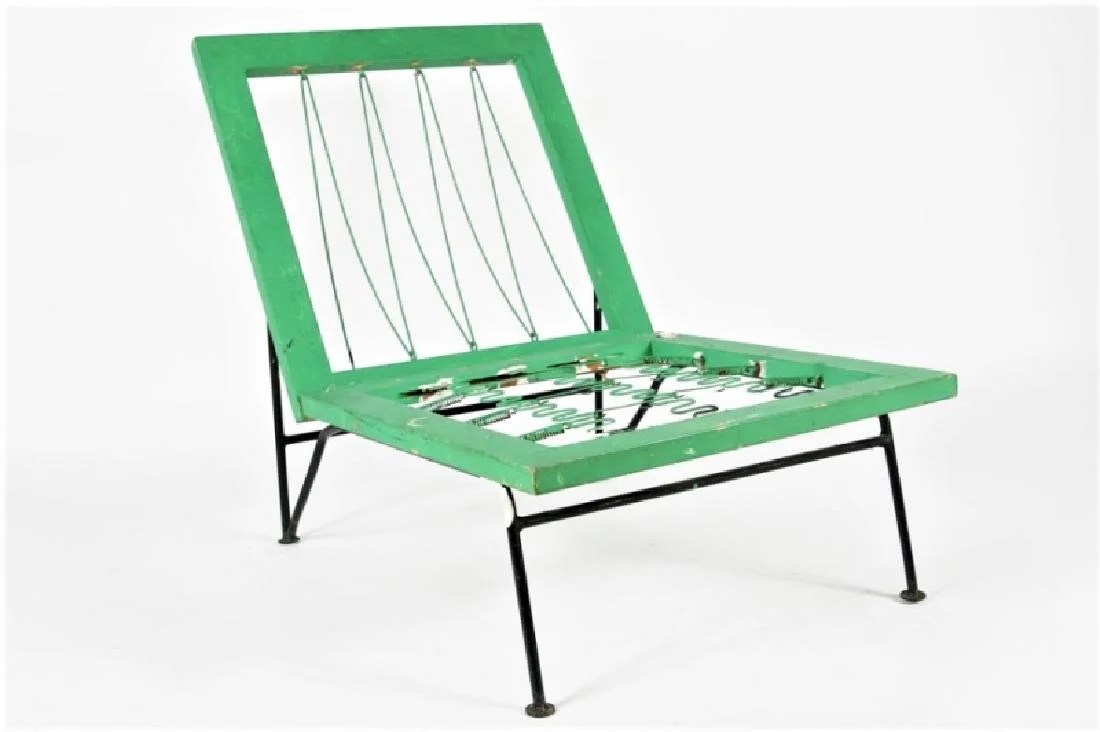 air chair frame oval back green swanson assoc for ficks reed sol