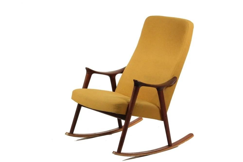 danish modern rocking chair heavy duty resin patio chairs ingmar relling