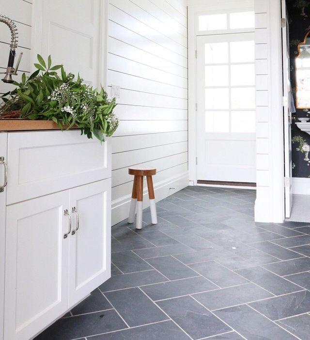 gray tile kitchen floor two handle faucet 灵感get 灰色瓷砖的巧妙构思 大众点评网 最近爱上了各种各样的建筑材料 今天给大家介绍一下关于灰色瓷砖 个人应用最多的一种 的空间搭配知识 这里不分析关于地板 瓷砖等各种材质的优劣 以后会做详细的