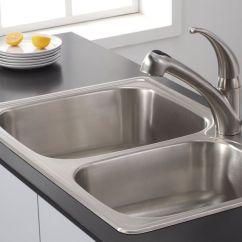 Rustic Kitchen Sink White Island With Stools 厨房水槽的材质水槽的选购攻略 大众点评网 水槽虽然是厨房装修中的一个配件 但在厨房各类用品中 水槽的使用频率最高 在饭前饭后 65 的时间与水槽打交道 所以它对家庭生活的重要性不言而喻 因此选择一个
