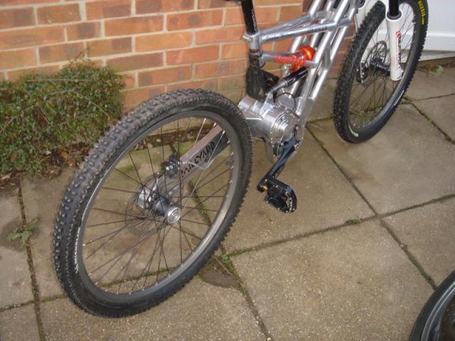 Mountain Bike Single Sided Swingarm Hobbiesxstyle