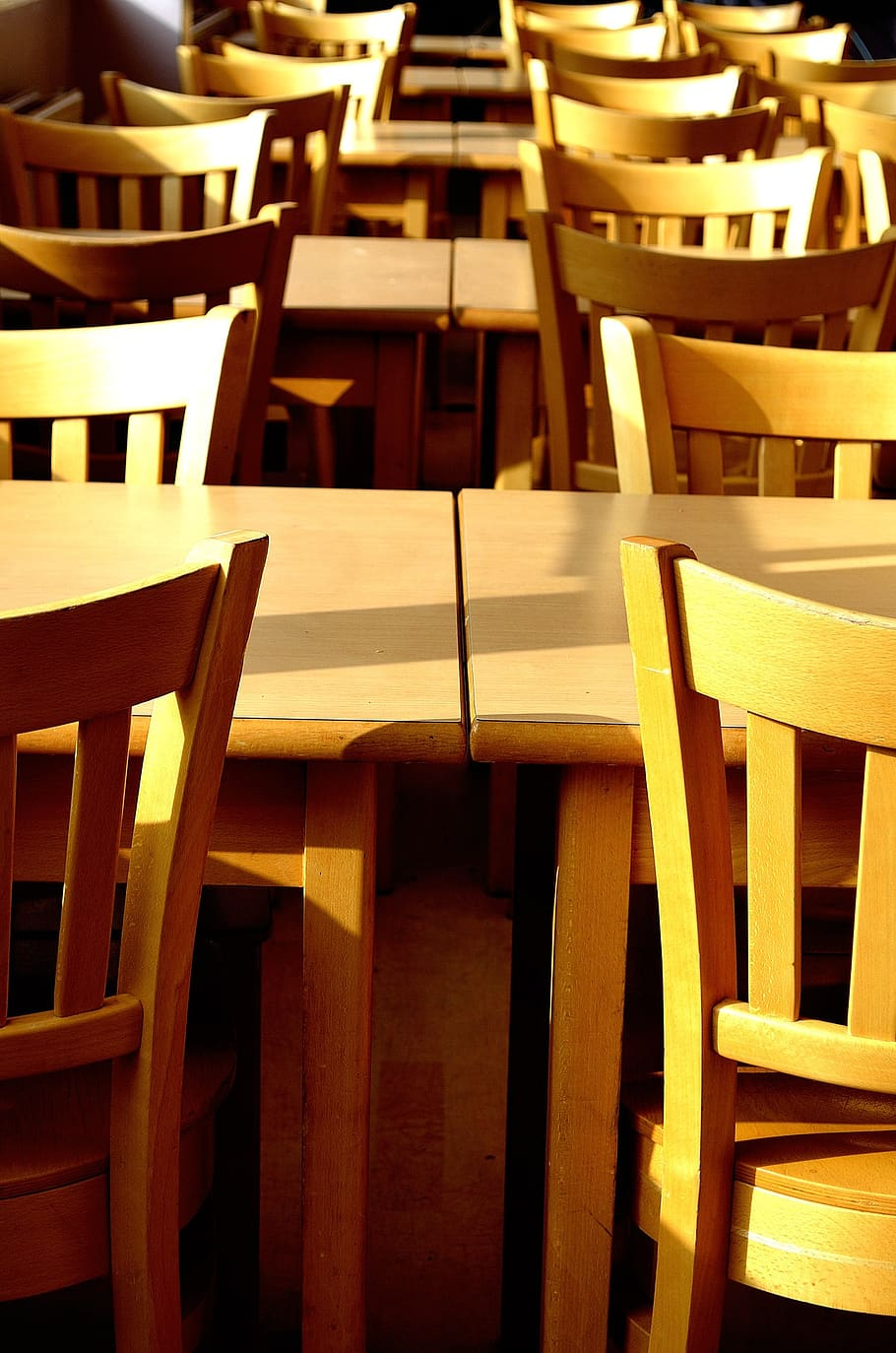 Canteens Background Chairs Tables Table Restaurants