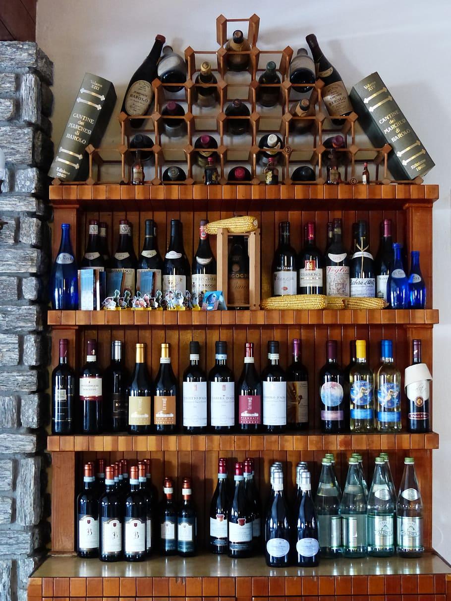 Wine Rack Shelf Wine Bottles Wine Bottle Alcohol Wine