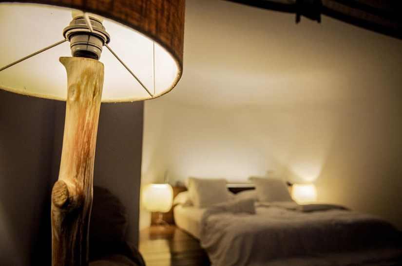 éclairage connecté chambre