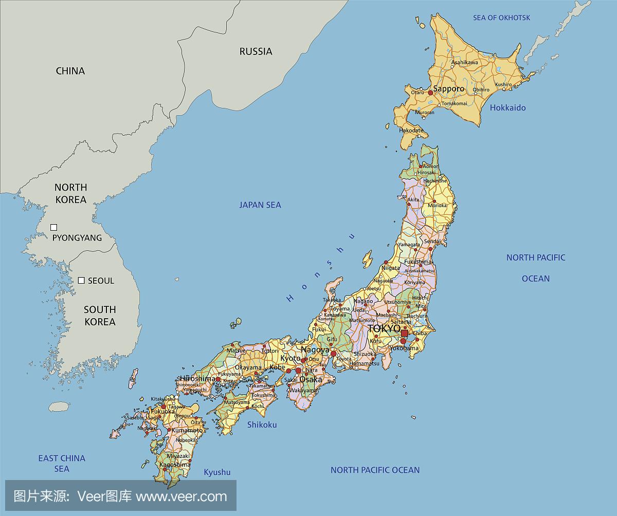 日本本州地圖全圖_日本本州行政地圖_微信公眾號文章