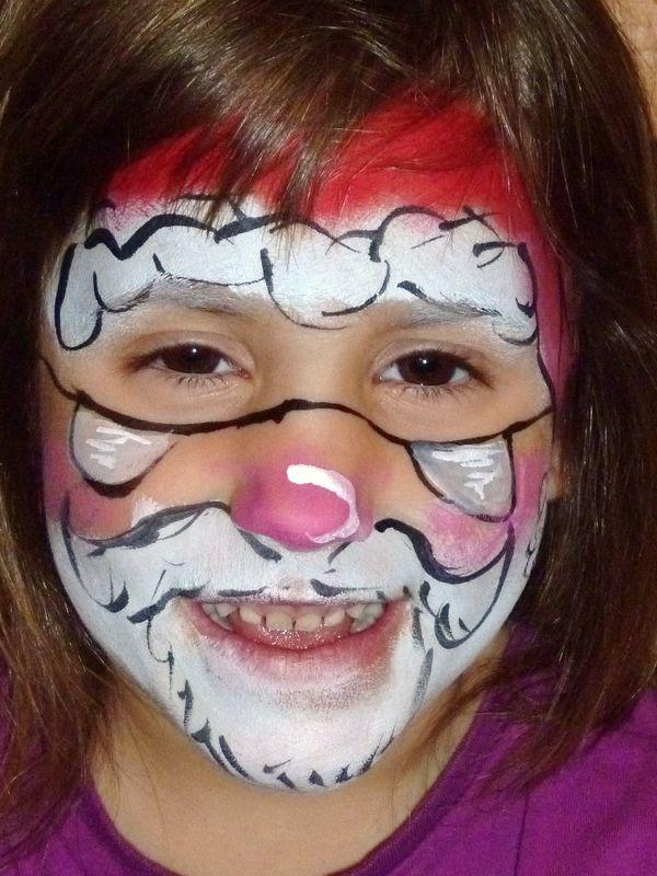 Pour La Priode De Nol Maquillage Artistique