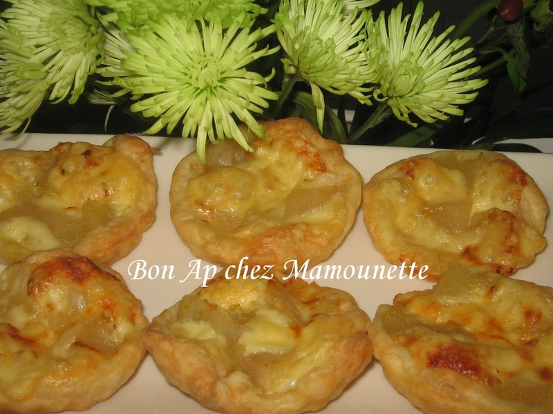 tartelettes pommes et croissants