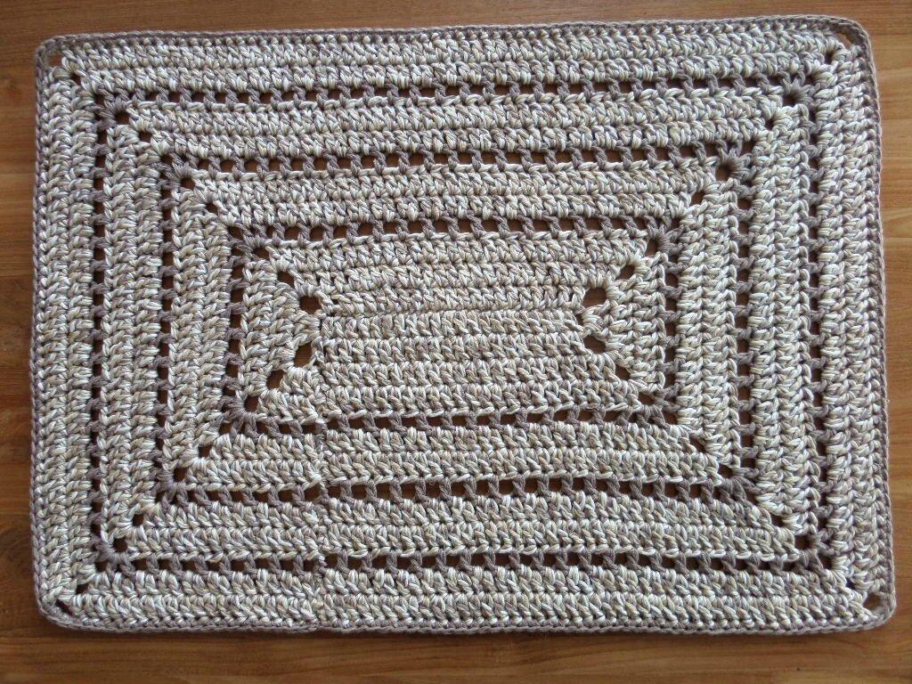 tapis au crochet et compagnie