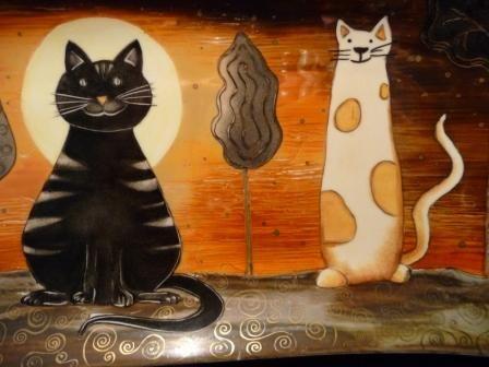 Les zanimos rigoLos  Album photos  Perle de KaOlin  Peinture sur Porcelaine