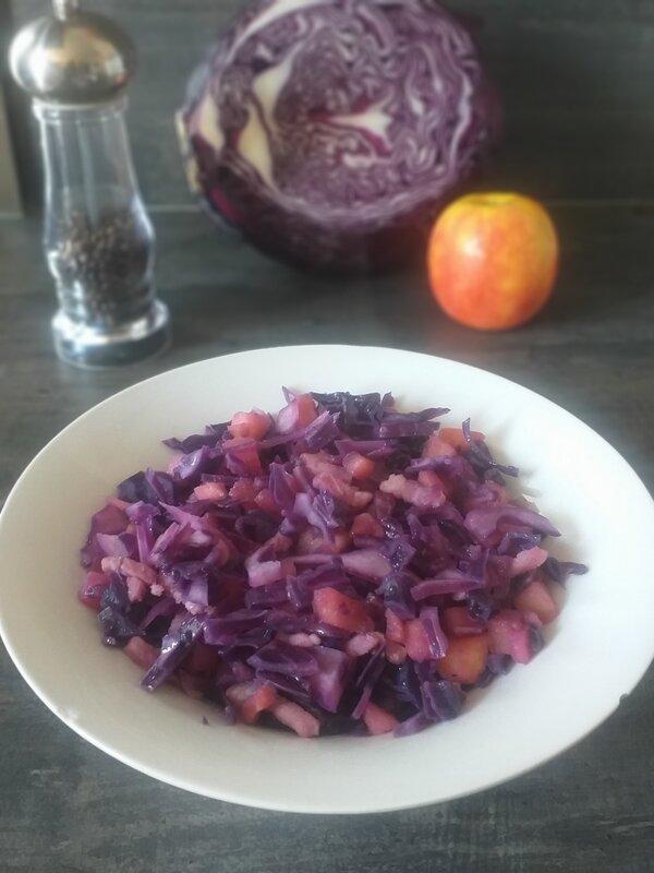 Recette Chou Rouge Lardons Pommes De Terre : recette, rouge, lardons, pommes, terre, Rouge, Pommes, Lardons, C'est, Tarte