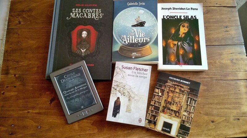 Mes provisions de livres