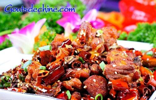 La cuisine chinoise  Poulet  La cuisine chinoise