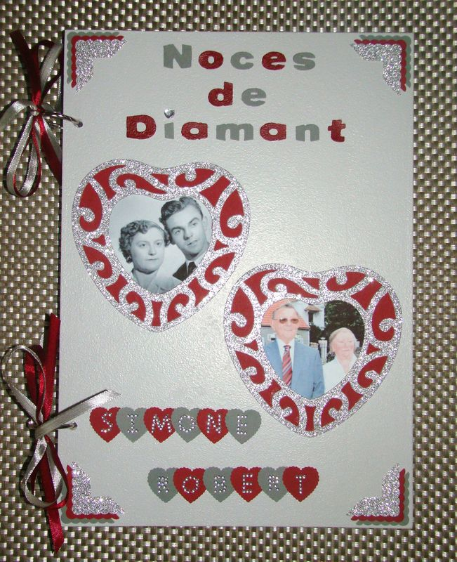60 Ans De Mariage Noce De : mariage, Noces, Diamant, Créas, Sylvie