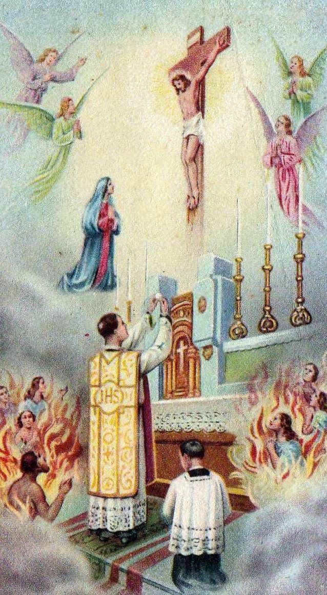 Priere Pour Les Ames Du Purgatoire : priere, purgatoire, PRIÈRES, ÂMES, PURGATOIRE, Petit, Monde, Céline