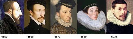 Evolution de la fraise au XVIe siecle (homme)