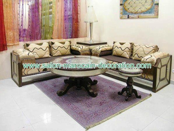 les modeles de salon marocain oriental