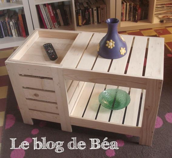 1 Meubles En Bois De Palette Album Photos Le Blog De Ba