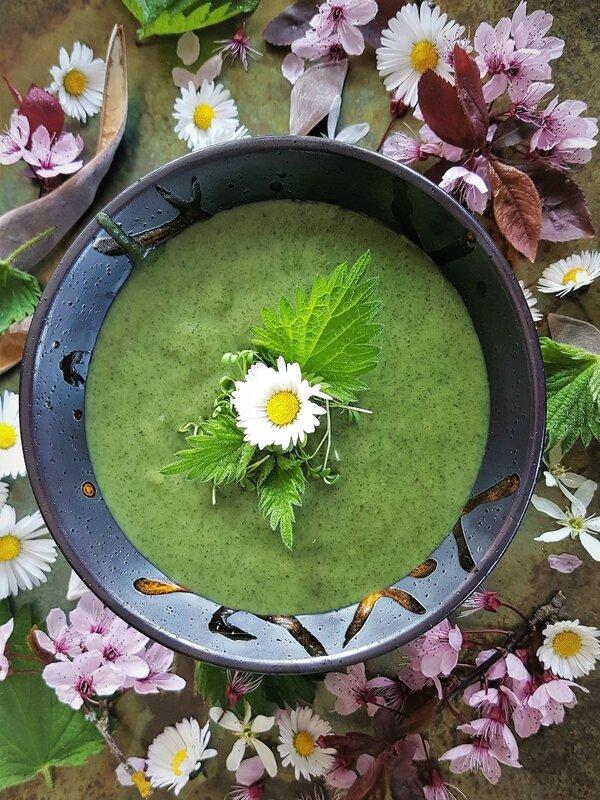 Soupe D Orties Grand Chef : soupe, orties, grand, Velouté, D'Orties, Soupe, Fossés, Recettes, L'Alsacienne