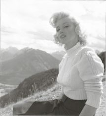 Aot 1953 Canada Marilyn Visite Le National Park - Divine