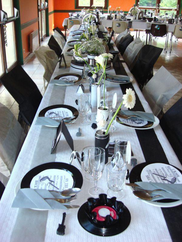 Decoration Table Anniversaire 18 Ans Garcon