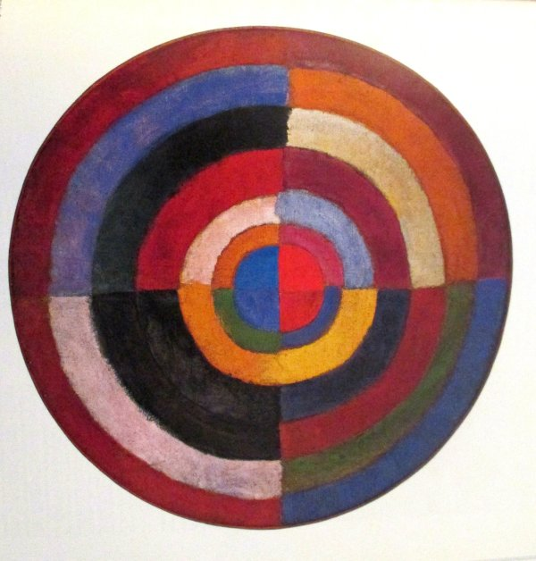 Robert Delaunay - Moire Virtuelle 'une Ide