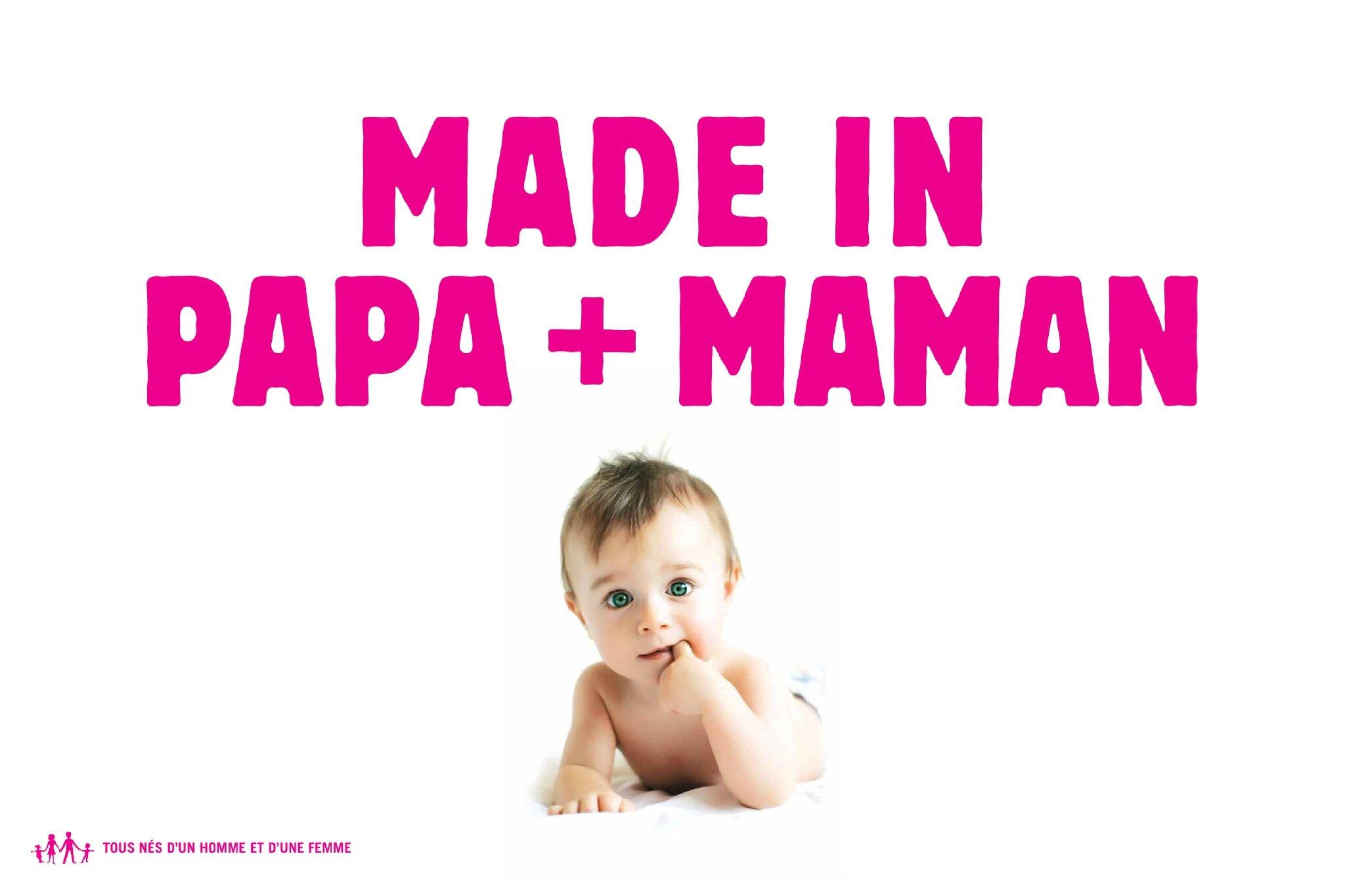 Made in Papa + Maman