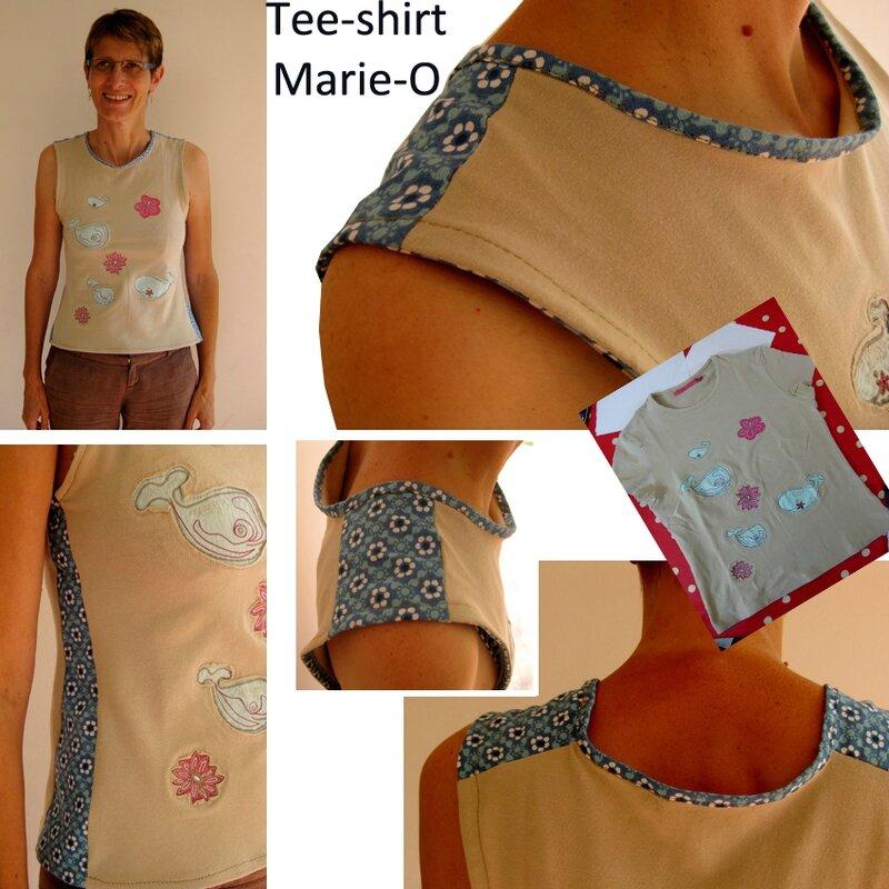 Tee-shirt Marie-O