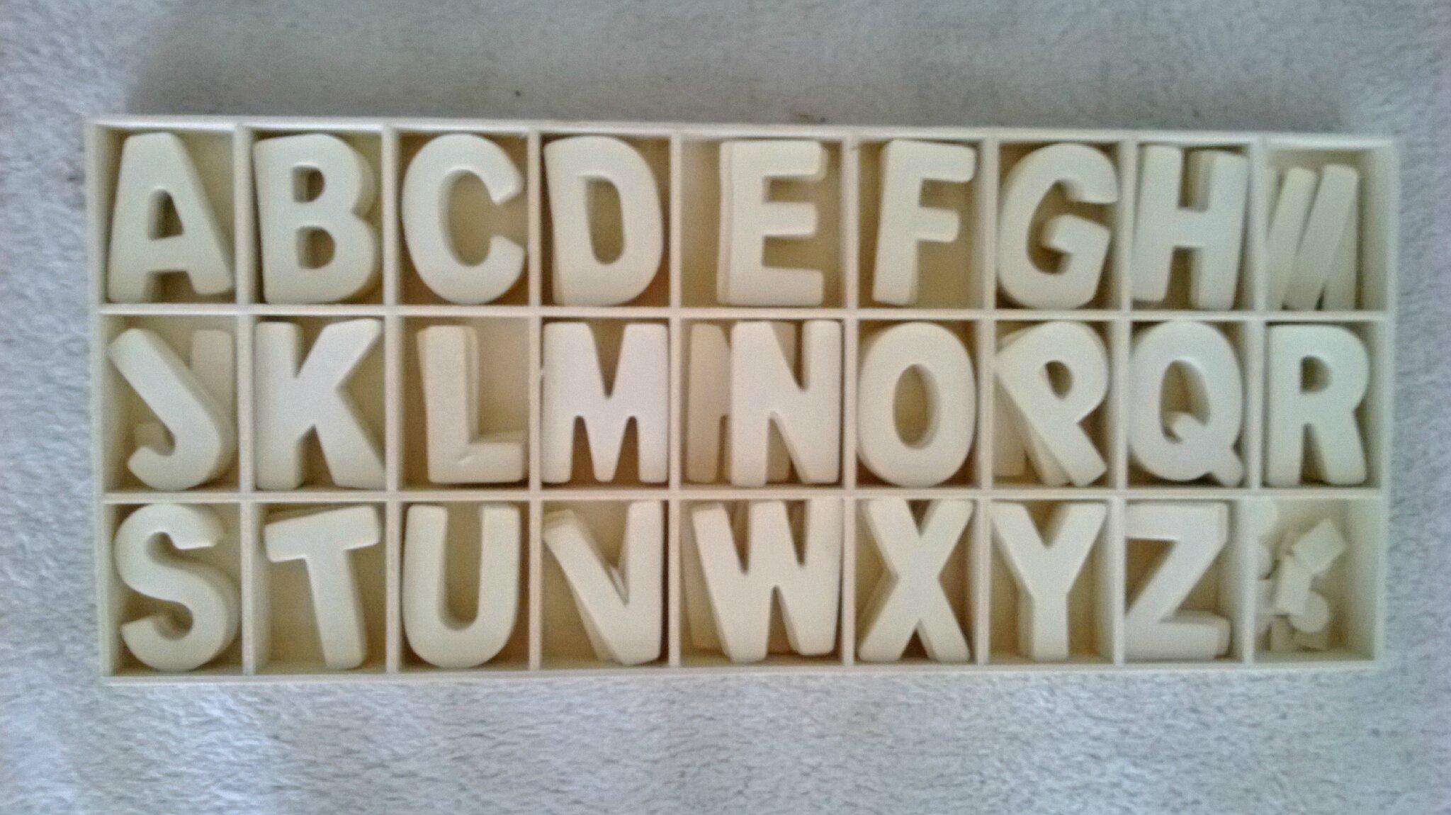 lettre cuisine en bois