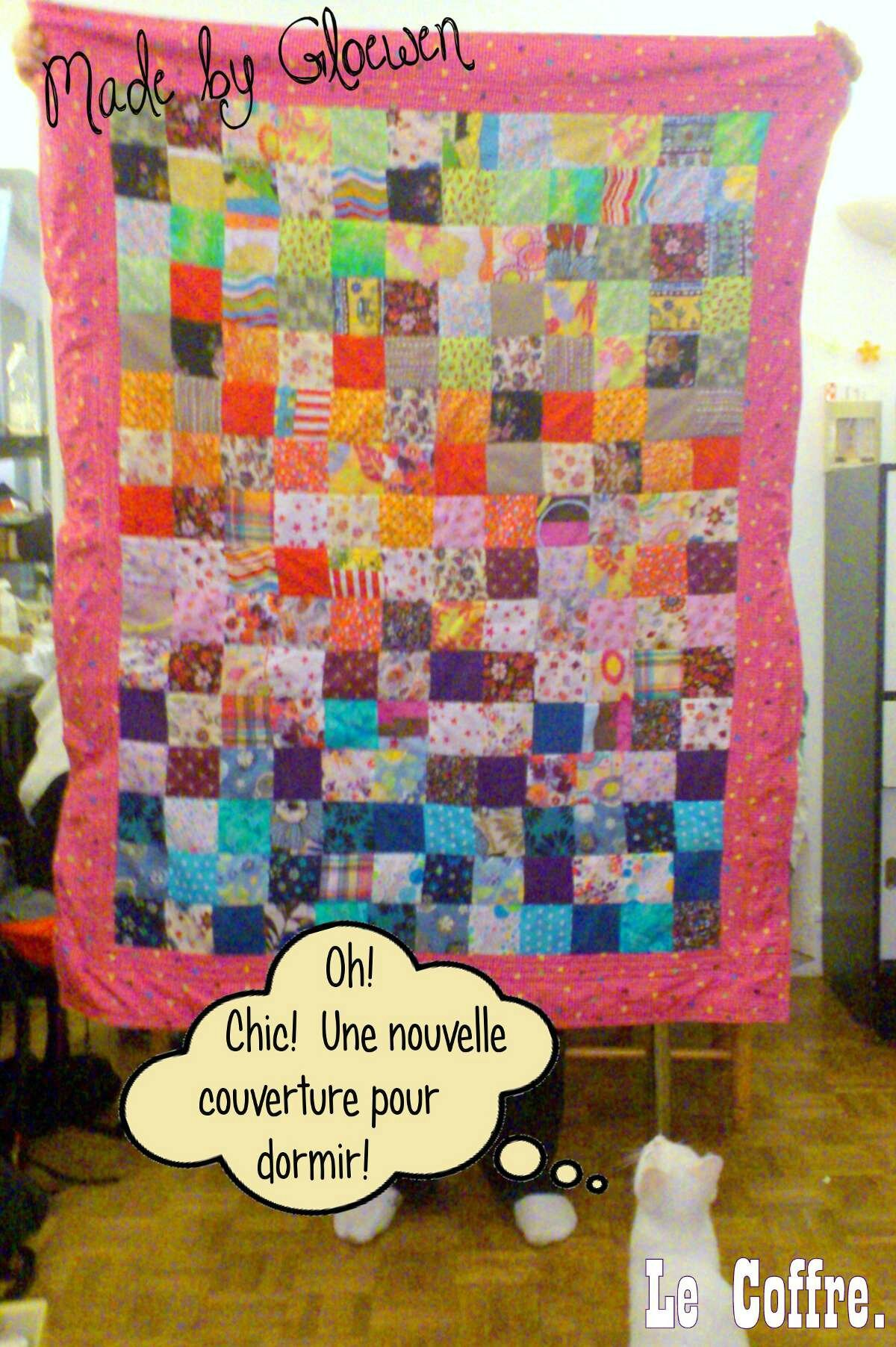 Tuto Couverture Patchwork Facile Raliser DIY Couture