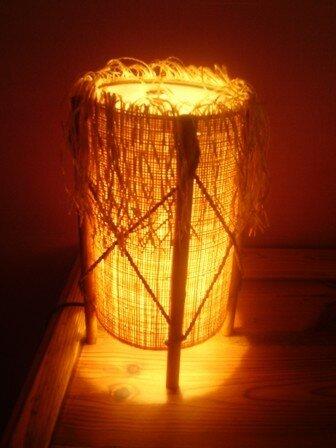 lampe style africain  Photo de Lampes diverses  Le blog de Sunshine