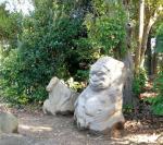 Tombeau Kibi-hime_pierres singe
