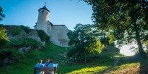Chateau-Neuf Allinges vue