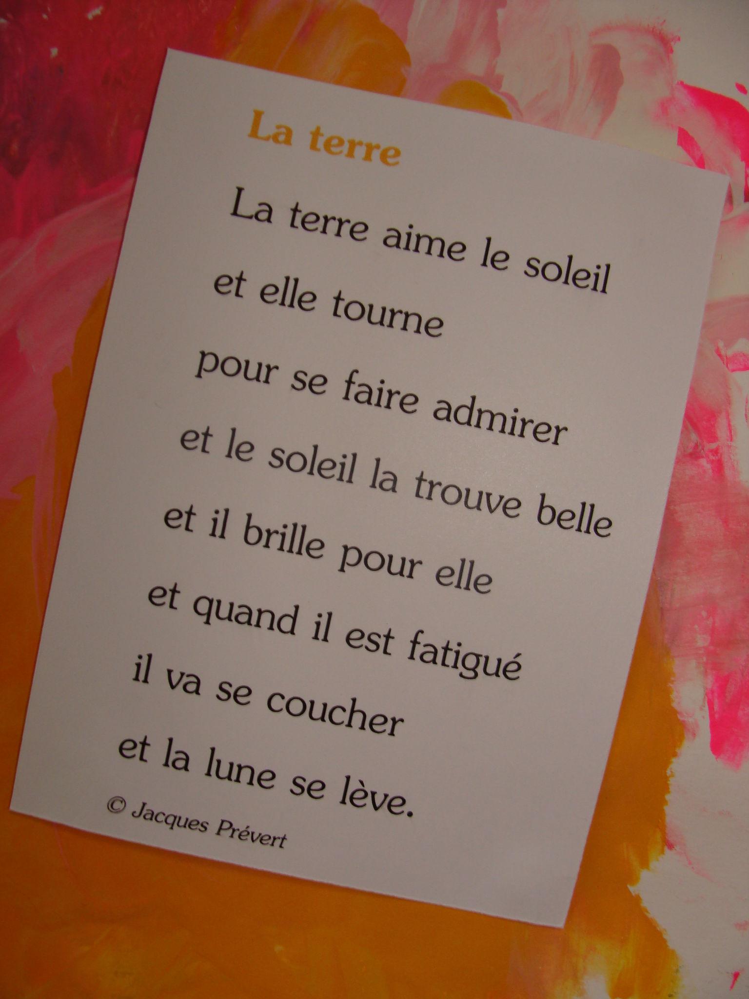 Poème Sur La Nature De Jacques Prévert : poème, nature, jacques, prévert, Poésie..., (suite), Ribambelles