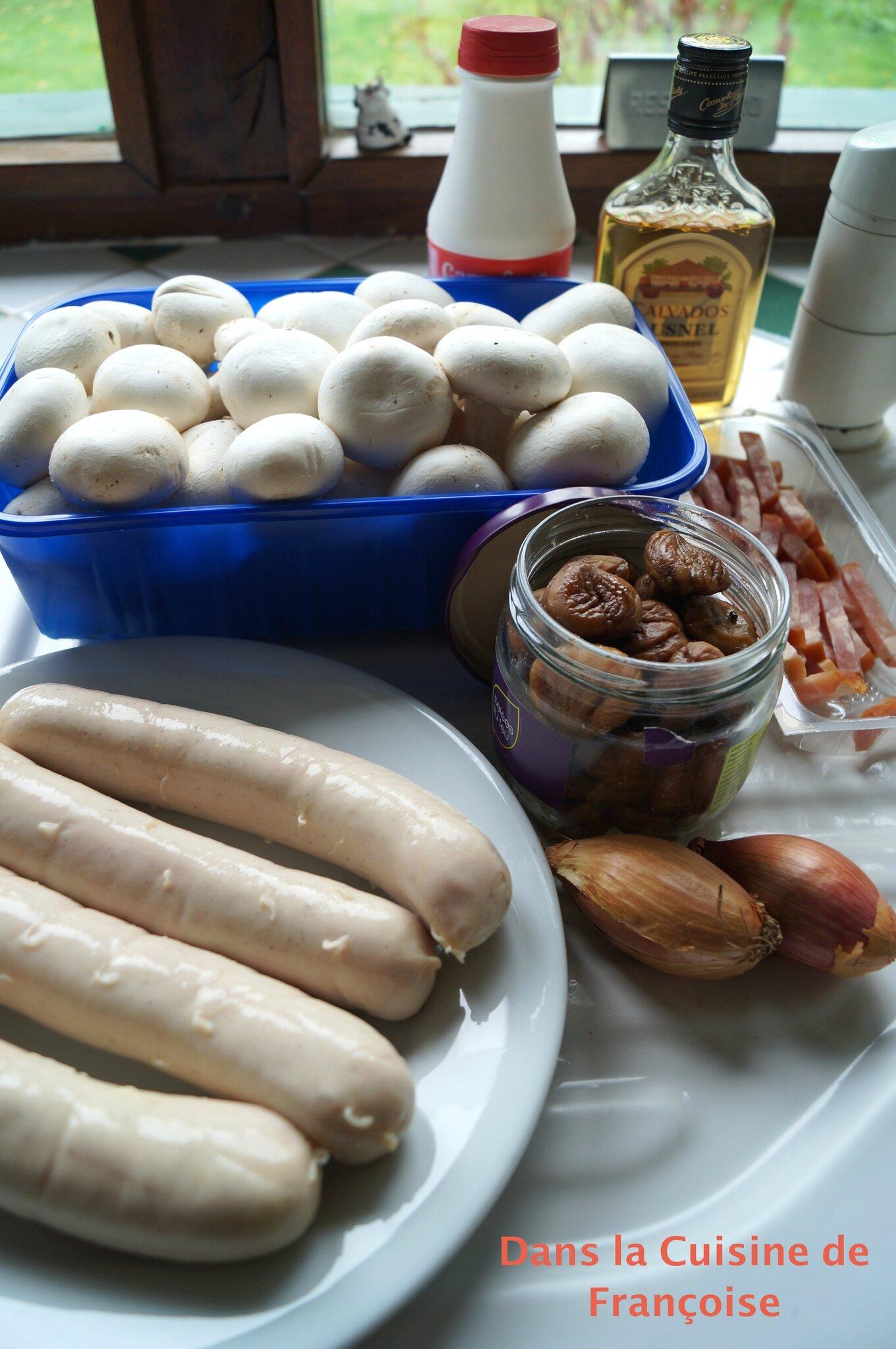 Legumes Pour Accompagner Le Boudin : legumes, accompagner, boudin, Boudin, Blanc, Accompagnement, Cuisine, Françoise