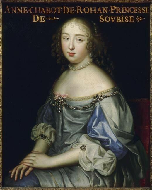 La Fille Au Roi Louis : fille, louis, Rohan-Chabot,, Petite, Maîtresse, Louis, L'envers, L'Histoire