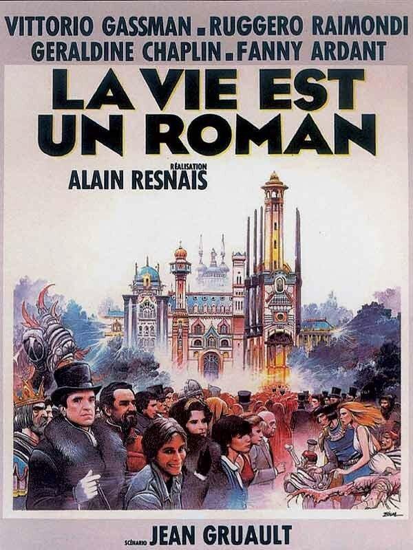 La Vie Est Un Roman : roman, Roman, D'Alain, Resnais, Shangols