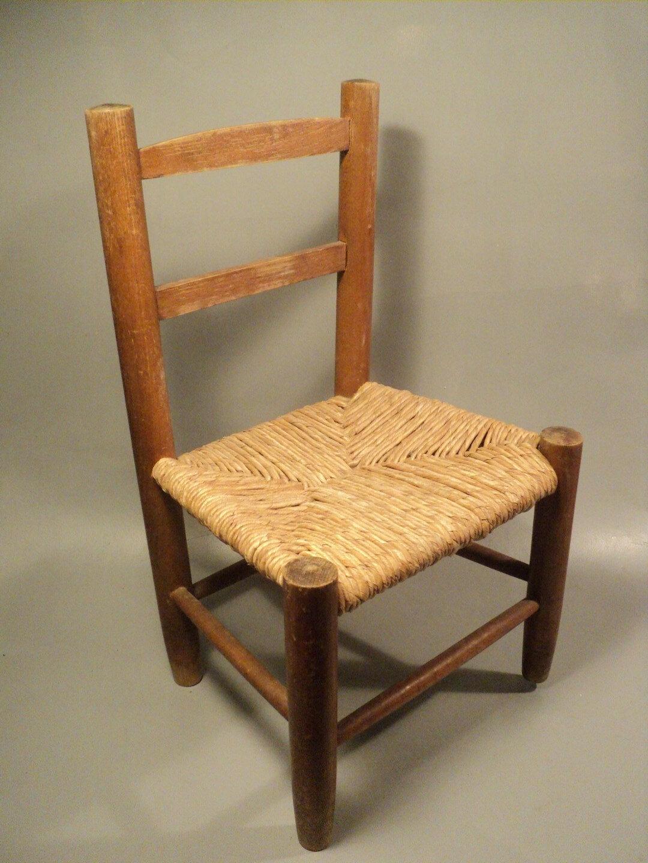 petite chaise enfant bois assise en