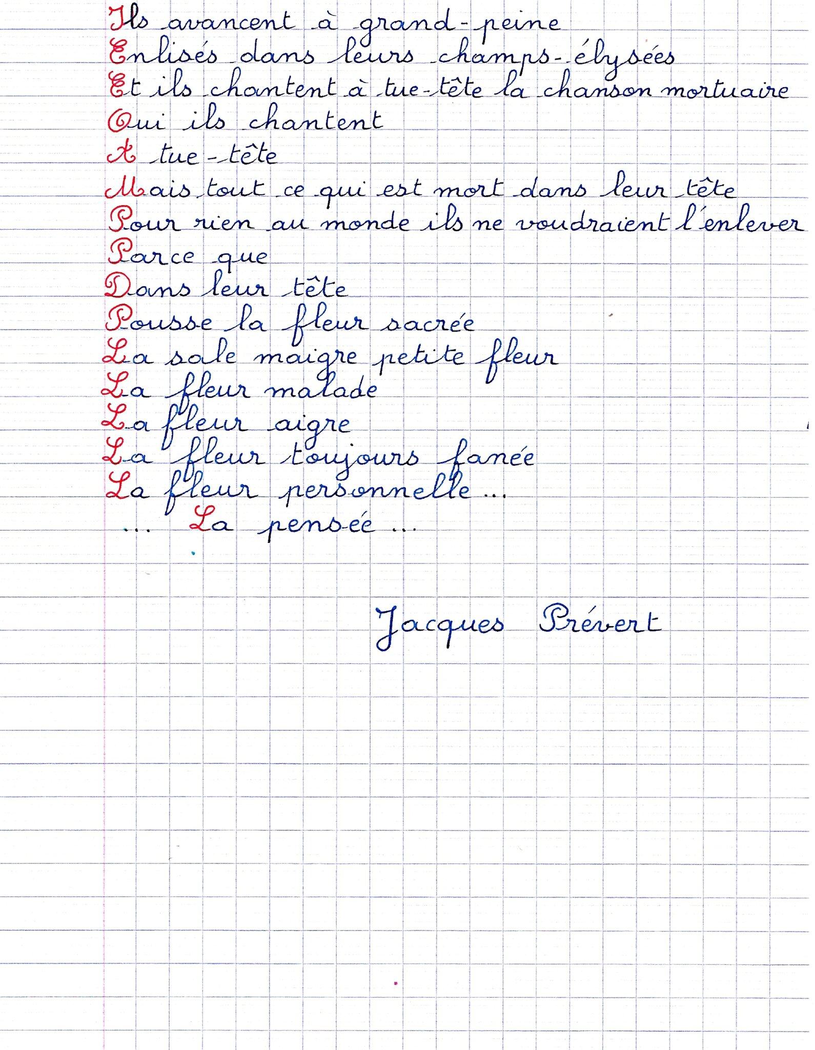 Poeme Sur La Mort Prevert : poeme, prevert, Poème, Tournesol,, Pensée,d'immortelles,de, Lilas,, Marguerite,, D'hélianthe,