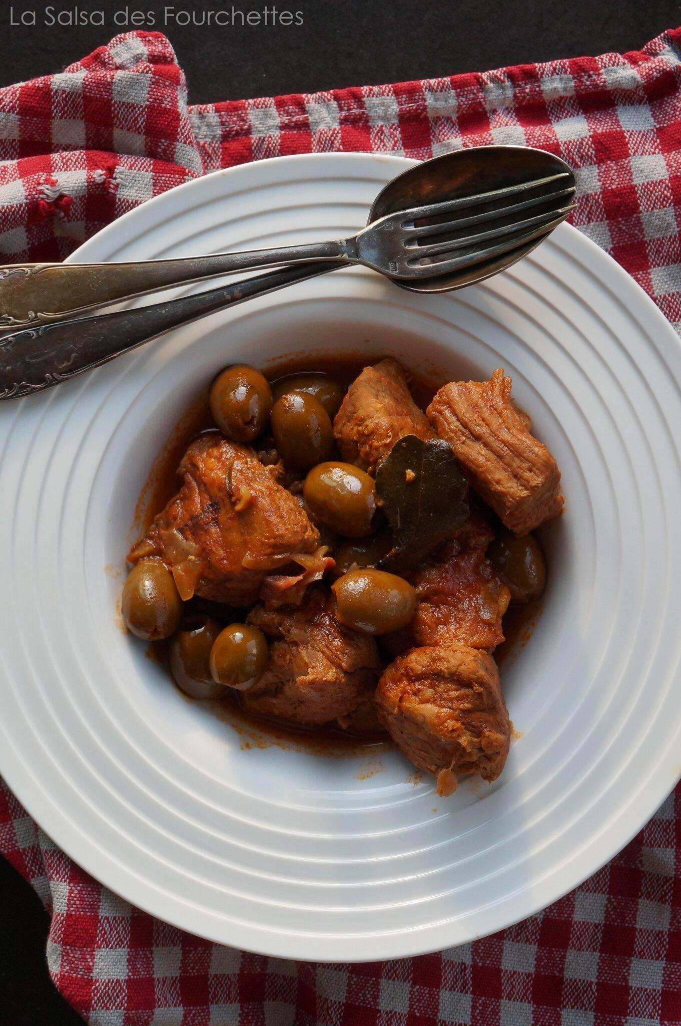 Veau Aux Olives Corse : olives, corse, Olives, Corse, SALSA, FOURCHETTES