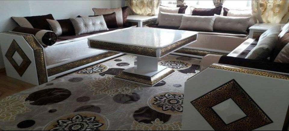 tapis salon marocain moderne modeles