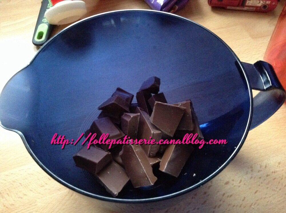 mousse au chocolat rapide fati la