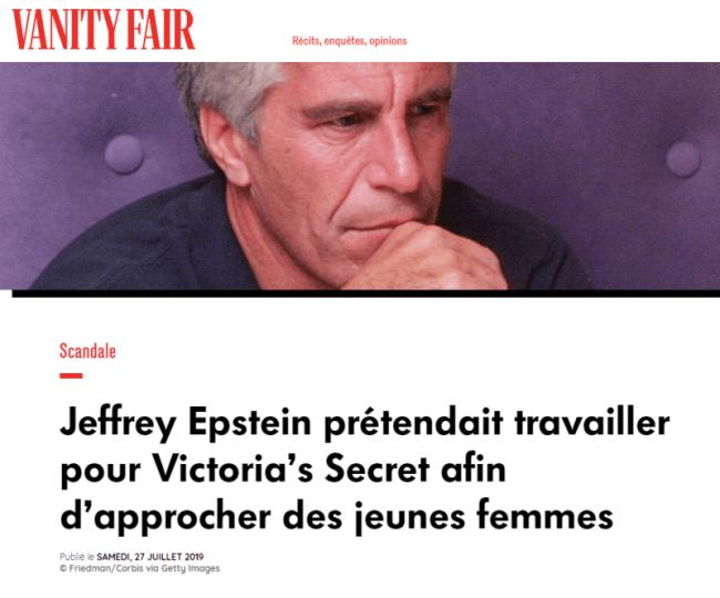 2019-08-11 13_00_00-Jeffrey Epstein prétendait travailler pour Victoria's Secret afin d'approcher de